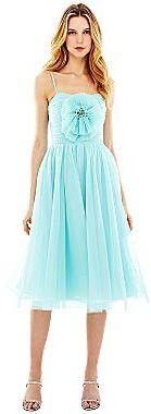 Marchesa Pearl Georgina Chapman of Rosette Appliqué Tulle Dress
