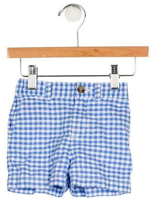 Ralph Lauren Boys' Gingham Print Shorts