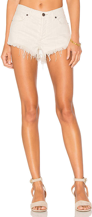 Free People Soft & Relaxed Cut Off Shorts.