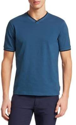 Emporio Armani Jersey V-Neck Tee Shirt
