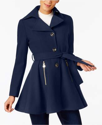 INC International Concepts I.n.c. Petite Skirted Walker Coat, Created at Macy's