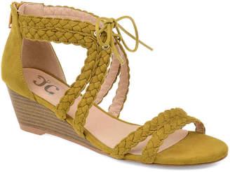 Journee Collection Aubree Wedge Sandal - Women's