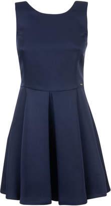 Armani Collezioni Pleated Dress