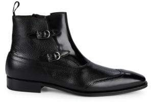Mezlan Classic Leather Ankle Boots