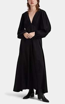 The Row Women's Sante Silk Kaftan Dress - Black