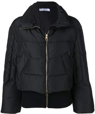 Versace full-zipped puffer jacket