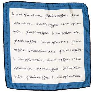 Malo Printed Silk Shawl