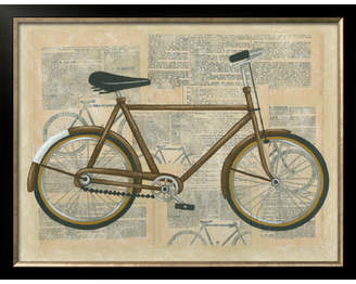Art.com 'Tour Bicycle I' by Chariklia Zarris Framed Graphic Art