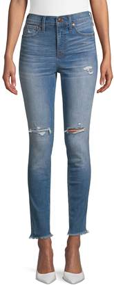 Madewell High-Rise Distressed Skinny Jeans