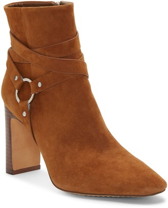Vince Camuto Sestina Harness Square Toe Bootie
