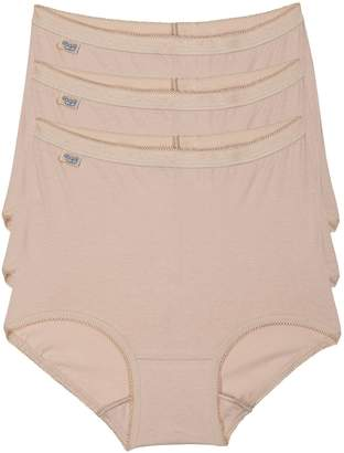 Evans **Sloggi 3 Pack Nude Maxi Knickers