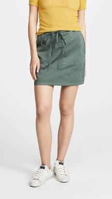 Theory Stitched Pocket Miniskirt