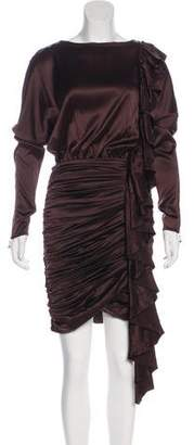 Thomas Wylde Silk Knee-Length Dress