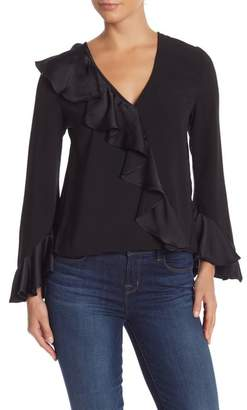 Do & Be Do + Be Ruffle Long Sleeve Blouse