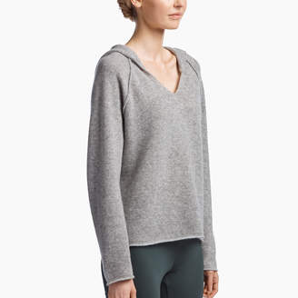 James Perse CASHMERE PULLOVER HOODIE