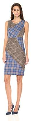 Tracy Reese Women's Patchwork Shift Multi