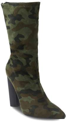 Olivia Miller Hollis Women's Camouflage Ankle Boots