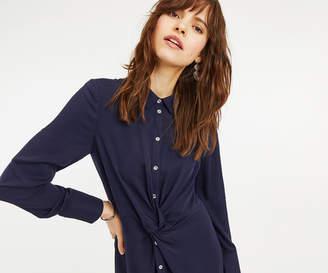 Oasis TWIST FRONT SHIRT DRESS