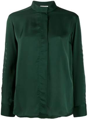 Sandro Paris round neck blouse