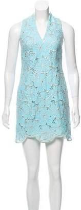 Lilly Pulitzer Sleeveless Metallic Embroidered Dress