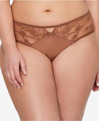 Ashley Graham Plus Size High-Rise Lace Panty 402150