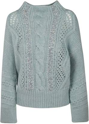 Ermanno Scervino Perforated Sweater