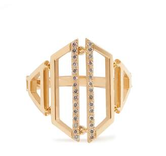 Susan Foster Diamond & yellow-gold ring