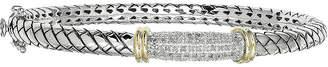 Couture FINE JEWELRY Shey 1/5 CT. T. W. Diamond Sterling Silver Bangle Bracelet