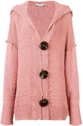 Stella McCartney hooded oversized cardigan