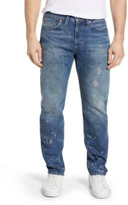 Levi's CLOTHING Vintage Clothing 1954 501(R) Shrink To Fit Straight Leg Jeans (Blackmon)