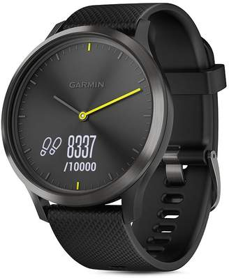 Garmin vivomove HR Sport Hybrid Black Smartwatch, 43mm