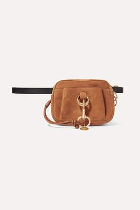 See by Chloe Tony Textured-leather And Suede Belt Bag - Tan