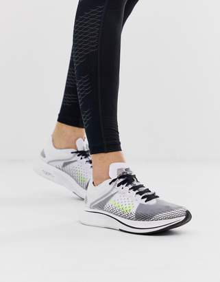 Nike Running Zoom Fly SP sneakers in white