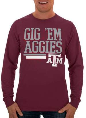 NCAA Russell Texas A&M Aggies Men's Long T-Shirt