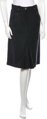 La Perla Virgin Wool Skirt $100 thestylecure.com
