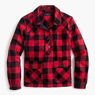 J.Crew Shirt-jacket in buffalo check