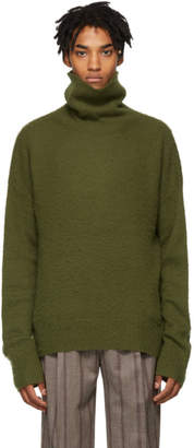 Acne Studios Green Nyran Turtleneck