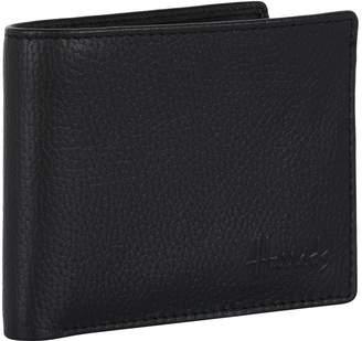 Harrods Grained Leather Bifold Wallet