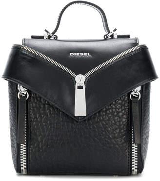 Diesel zip detail mini backpack