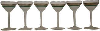 One Kings Lane Vintage Glam Art Deco Martini Glasses