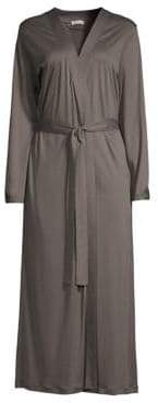 Hanro Ella Long Cotton Robe