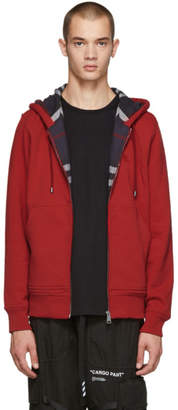 Burberry Red Fordson Core Hoodie