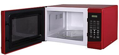 JCPenney Magic Chef® .9-cu. ft. Red Microwave Oven