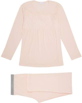La Perla Lace Panel Pyjama Set
