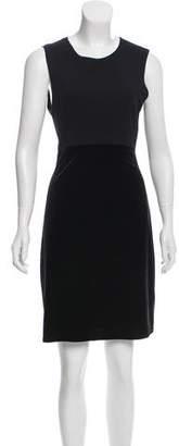 Ungaro Emanuel by Sleeveless Velvet Dress