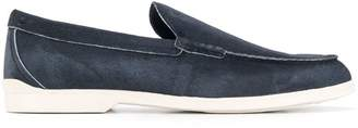 Tod's round toe loafers