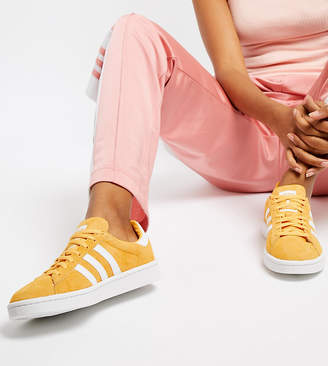 adidas Campus Trainers In Yellow