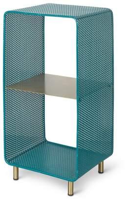 Oliver Bonas Onu Teal Standing Storage Shelf