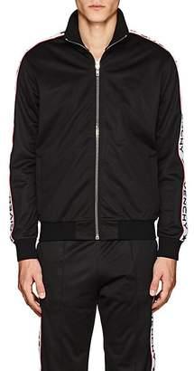 Givenchy Men's Logo Fleece Track Jacket - Black