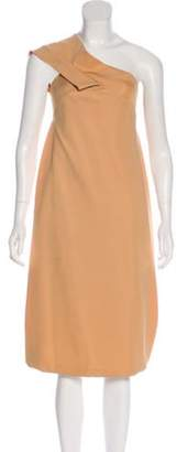 Bottega Veneta Knit Midi Dress brown Knit Midi Dress